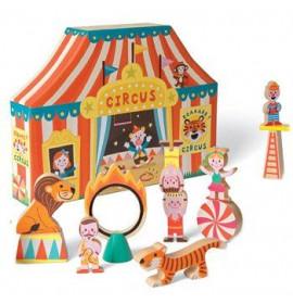 Janod Scatola Gioco con Personaggi del Circo