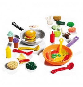 Set Alimenti con Padella