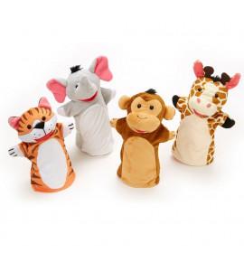 Set Marionette Giocattolo Zoo