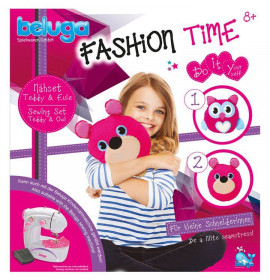 Set Pupazzi da Cucire Fashion Time