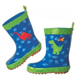 Stivali di Gomma per Bambini Dinosauro Stephen Joseph