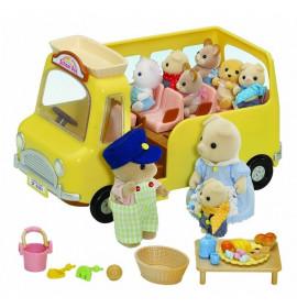 Sylvanian Families Bus Asilo