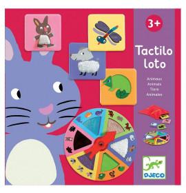 Tactilo Loto Animali Djeco