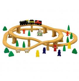 Trenino in Legno Giocattolo per Bambini