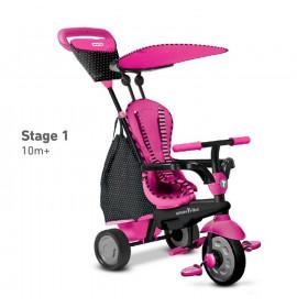 Triciclo Smar-Trike Rosa