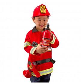 Vestito da Pompiere per Bambini