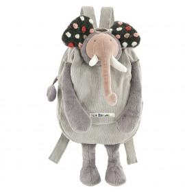 Zainetto Peluche Elefante Moulin Roty